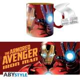 MARVEL - TAZZA FOIL THE ARMORED AVENGER - 460ML
