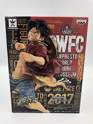 ONE PIECE - BANPRESTO WORLD FIGURE COLOSSEUM SPECIAL - MONKEY D. LUFFY 16CM