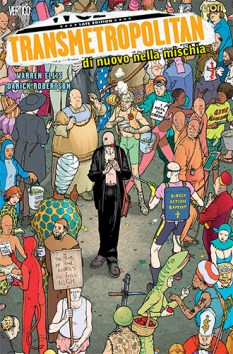 Transmetropolitan 1 cover regular SECONDA RISTAMPA.indd