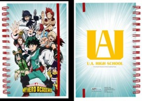 notebook my hero academia