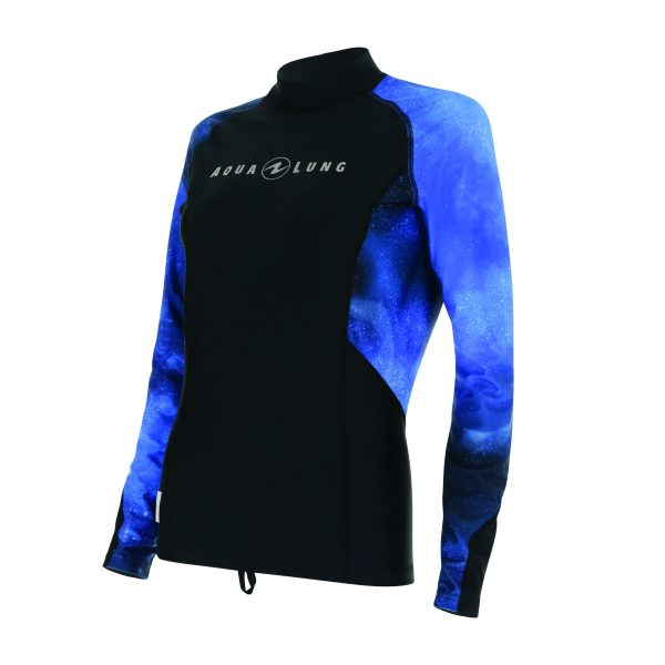 RW114_Rashguard_Women-LS_Galactic-Blue_Side