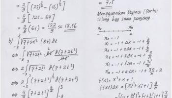 Contoh soal teorema dasar kalkulus. Jawaban Quiz 2 Kalkulus Ii Kelas Malam Taufiqur Rokhman