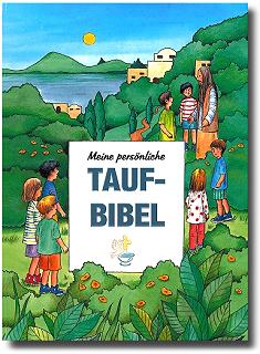 Personalisierte Taufbibel - Kinderbibel