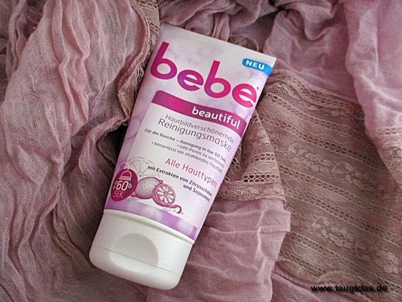 bebe hautbildverschönernde reinigungsmaske