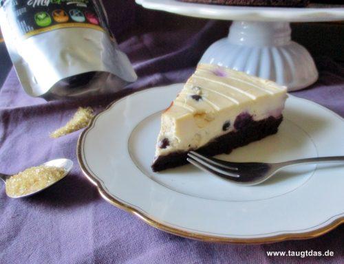 Blueberry Brownie Cheesecake