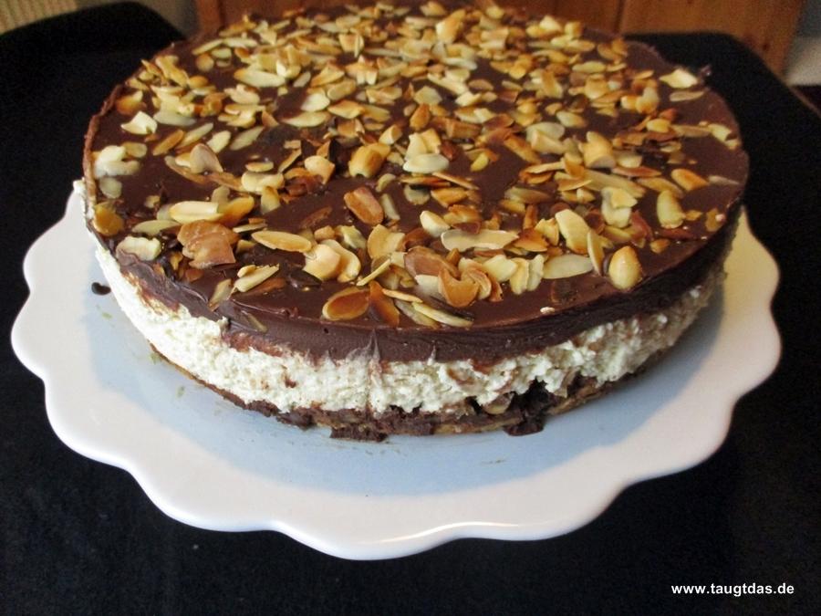 Erdnusscreme Cheesecake