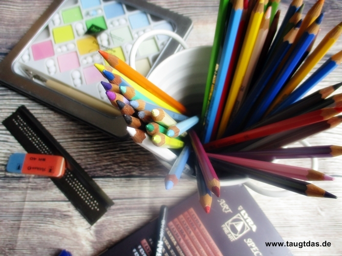 Farben und Kreide