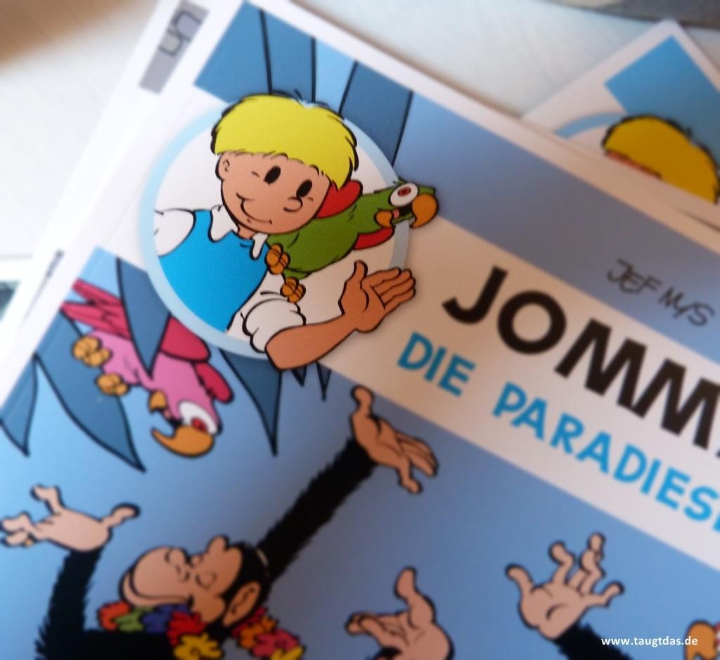 Jommeke Comic Cover