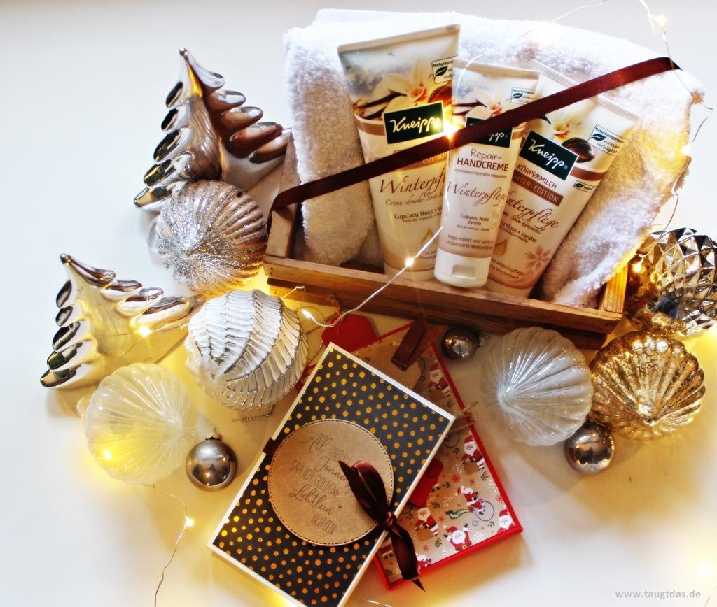 Geschenke von Kneipp verpacken