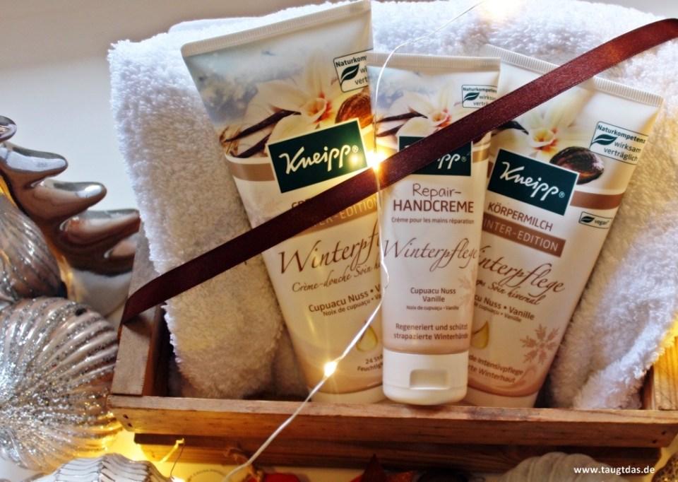 Schnelle Verpackungsidee für Körperpflegeprodukte