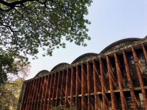 Dhaka University Library, Muzharul Islam