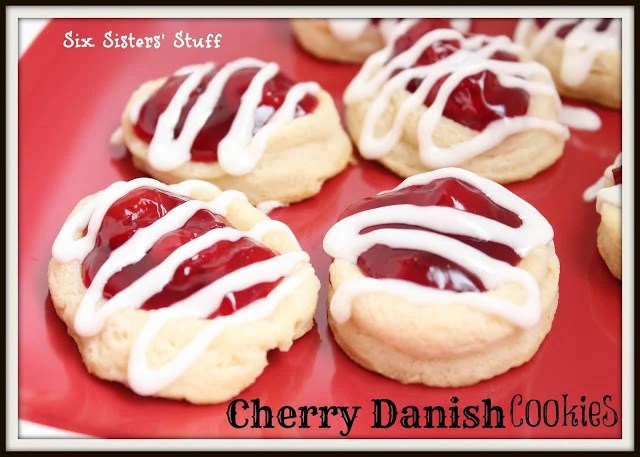 Cherry Danish Cookies