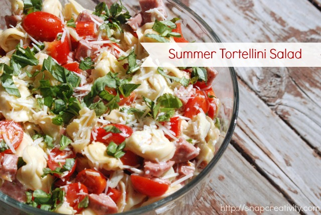 Summer Tortellini Salad Recipe