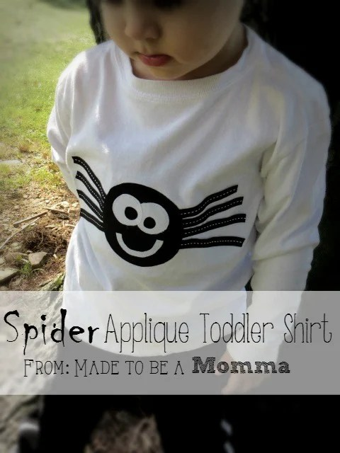 Spider Applique Shirt