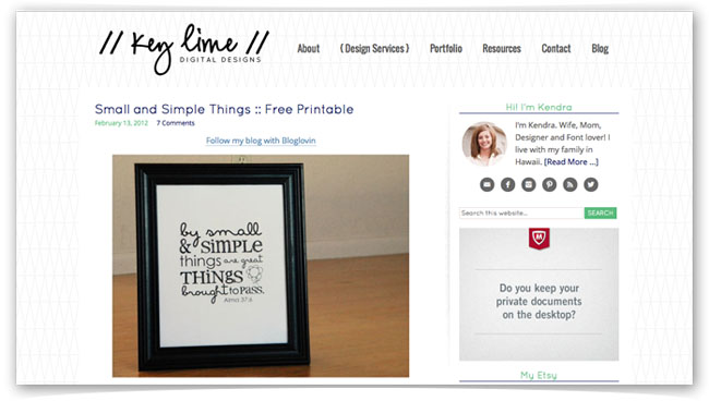 How to Offer A Free Printable On Your Blog