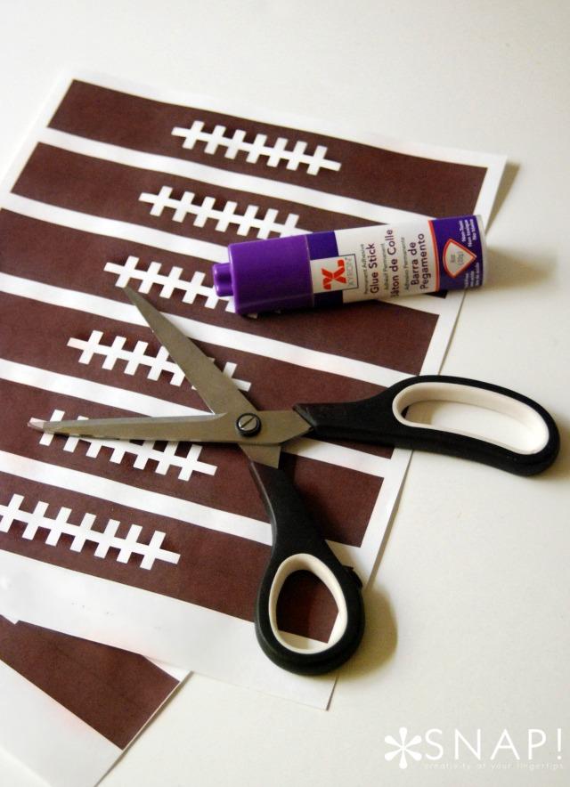 Football Paper Chain Supplies