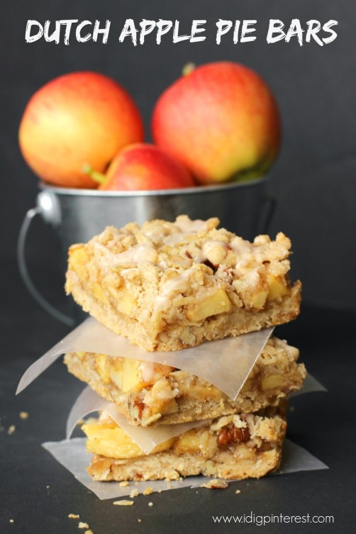 Dutch Apple Pie Bars1