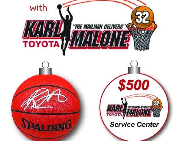 Karl Malone Toyota Giveaway