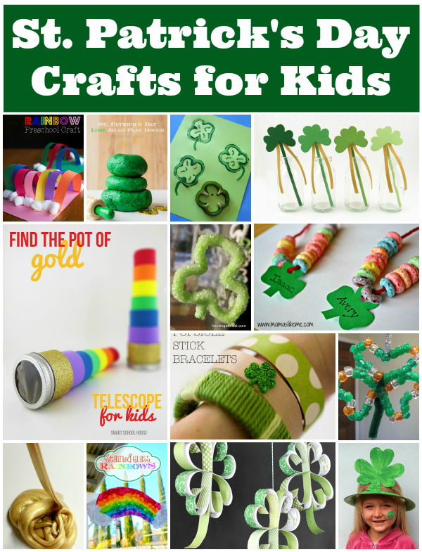 St Patricks Day Crafts for Kids from Snap Creativity