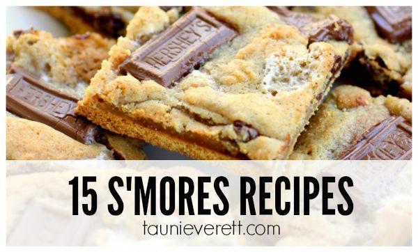 15 Tasty S'mores Recipes