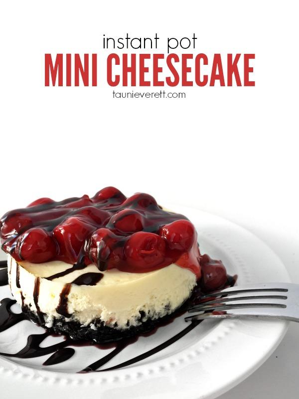 Instant Pot Mini Cheesecake