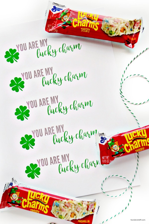 St. Patrick's Day Lucky Charm Gift Tags