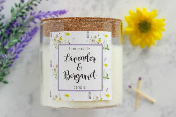 Diy candle tutorial
