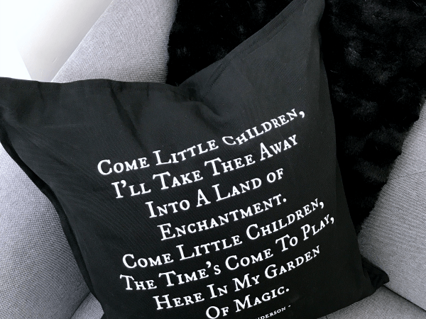 DIY Halloween Pillow Featuring Sarah Sanderson's Song