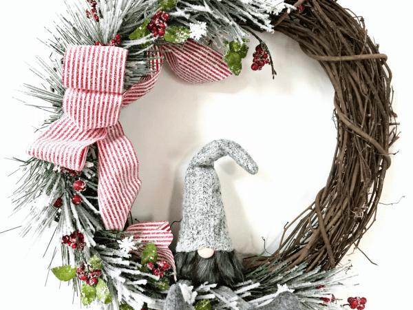 Winter Gnome Wreath