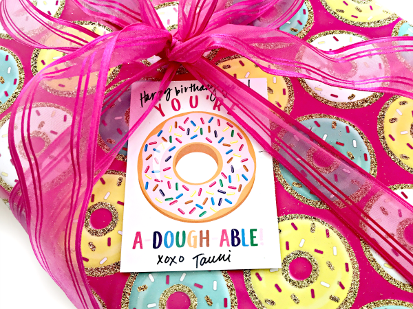 A-Dough-Able Donut Printable Gift Tag