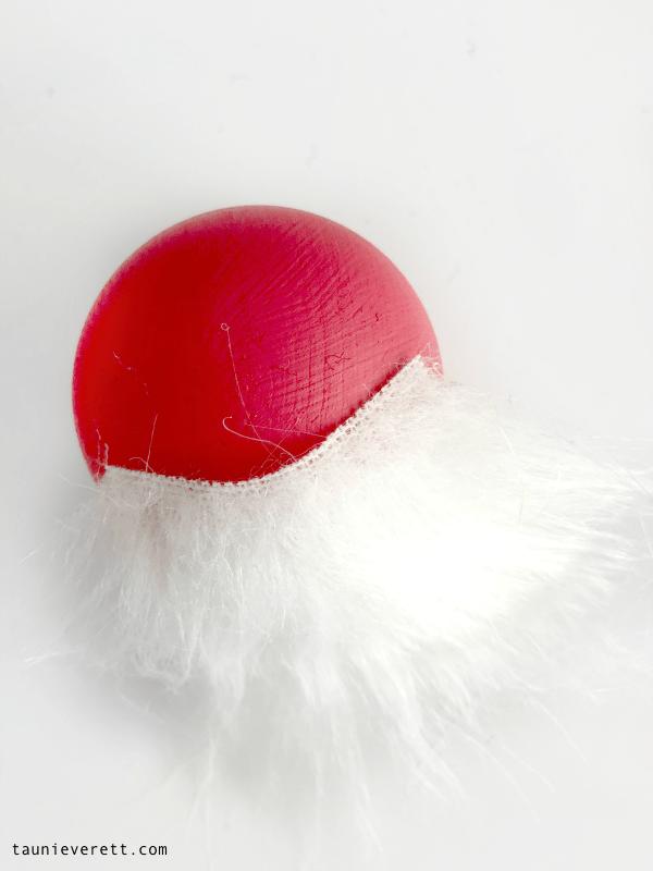 Diy gnome christmas ornament © tauni everett 8 600