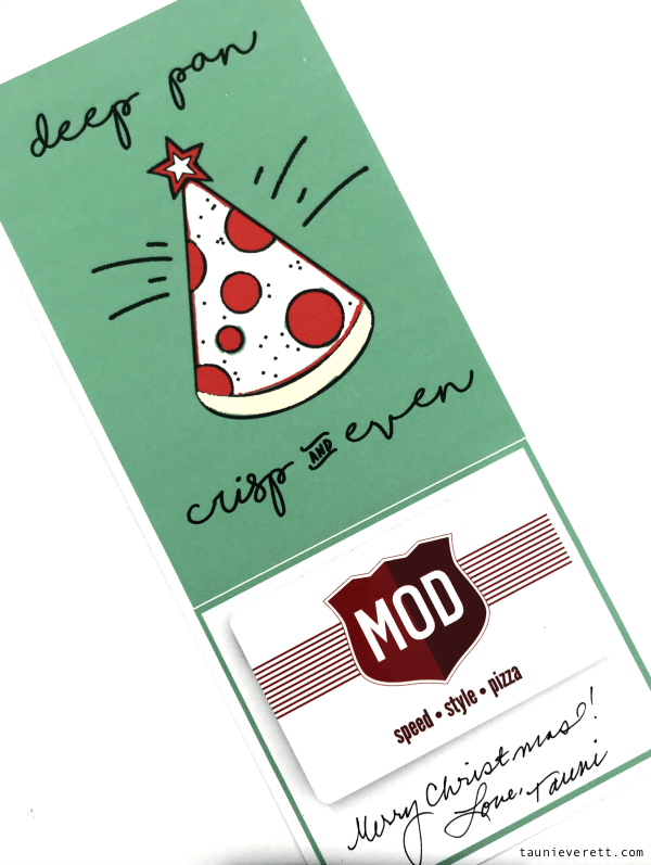 Pizza christmas printable gift idea © tauni everett 5 600