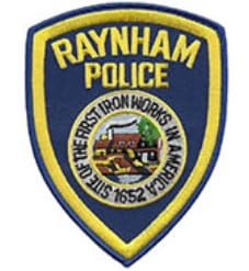 Raynham Police Patch