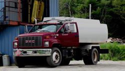 Fuel Oil Delivery Truck