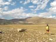 Arnauld / prospection des bords du poljè