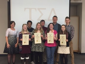 new members with Dr. Amundson