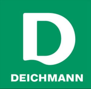 značka Deichmann logo