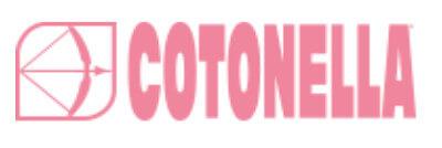 tabuľka veľkosti bavlnené nohavičky a podprsenky Cotonella