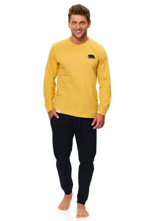 žlté pánske pyžamko PMB9509