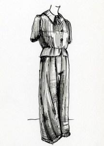 vznik pyžama