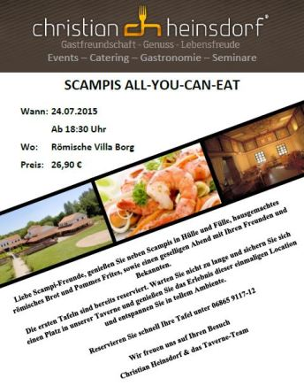 Scampi-All you can eat Bild Handy