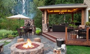 10 Stunning Backyard Patio Design Ideas Youtube with Backyards Ideas Patios