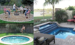 10 Swimming Pool Ideas For Small Backyards inside Pool Ideas For Small Backyards