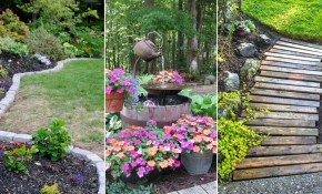 14 Cheap Landscaping Ideas Budget Friendly Landscape Tips For in 11 Genius Designs of How to Make Backyard Landscaping