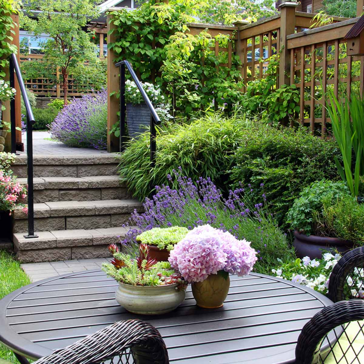 14 Small Yard Landscaping Ideas To Impress Family Handyman The throughout Backyard Ideas For Small Spaces