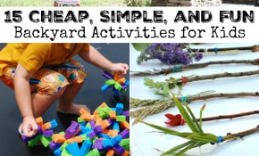 15 Cheap Simple And Fun Backyard Activities For Kids Rhea Lanas inside 15 Awesome Designs of How to Craft Backyard Game Ideas For Adults