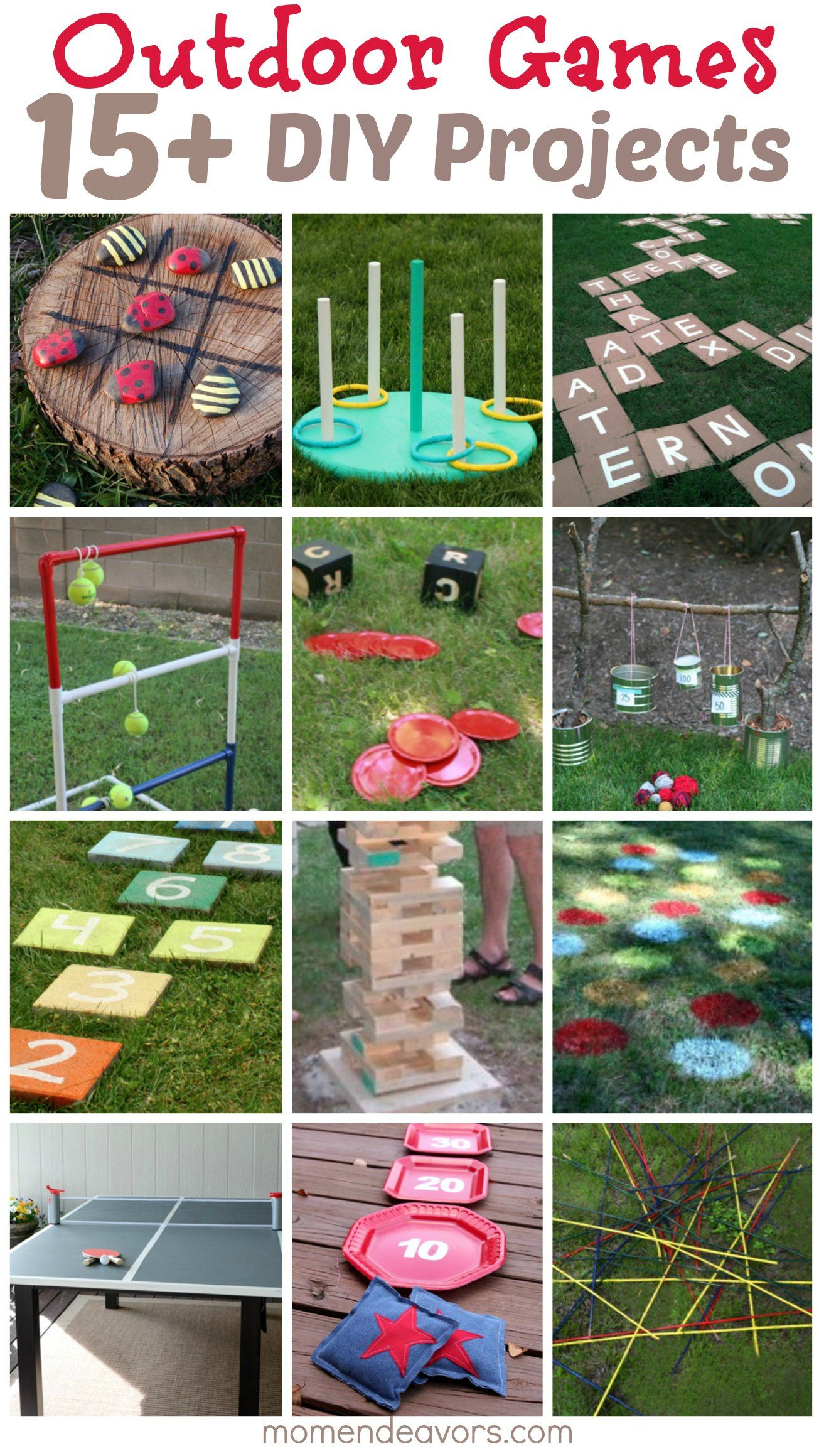 15 Diy Outdoor Games Spring Pinterest throughout 13 Some of the Coolest Concepts of How to Make Diy Backyard Party Ideas