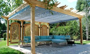 15 Shade Ideas For Your Outdoor Space intended for 15 Awesome Initiatives of How to Improve Backyard Structure Ideas