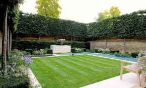 15 Ways To Gain Privacy In Your Yard inside Backyard Wall Ideas