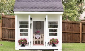 16 Free Backyard Playhouse Plans For Kids with Backyard Playhouse Ideas